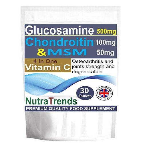 Glucosamine,Chondroitin,MSM ,Vitamin C,Joints Care Tablets