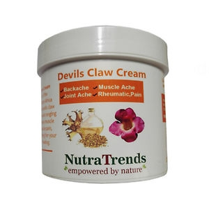Devils Claw Extract Cream Back pain, Muscles & Arthrities Relief 250ml Vegan