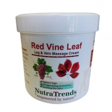 Natural remedies Red Vine leaf extract gel for Varicose Veins,tired and heavy legs fast relief 250ml Vegan