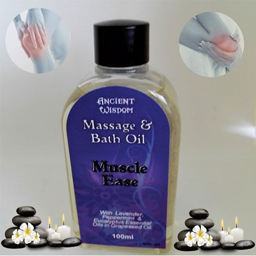 Aromatherapy 100% Pure Body & Bath Massage Oils Made In Uk Relaxing And Healing
