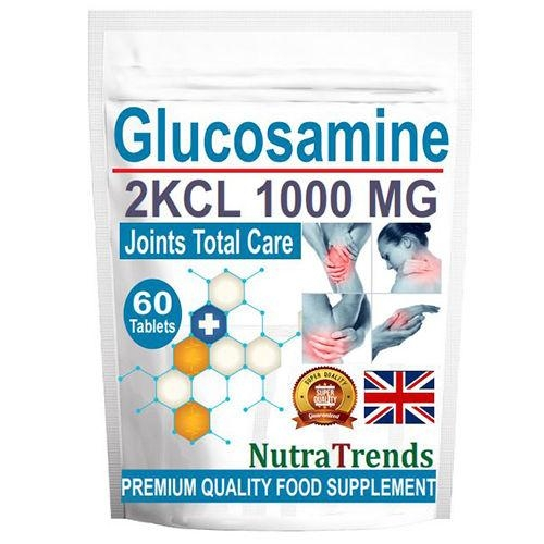 Premium Glucosamine Sulphate 1000mg Joints Pain Osteoarthritis Care Made In Uk